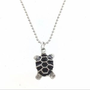 TURTLE MOOD NECKLACE - COLOR CHANGE - NEW ON CARD